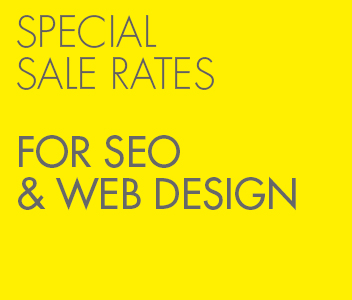 Special Rates SEO & Web Design